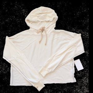 New Trunk LTD Hooded Crop Sweatshirt
